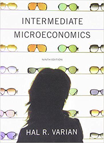 Intermediate Economics Hal Varian Pdf