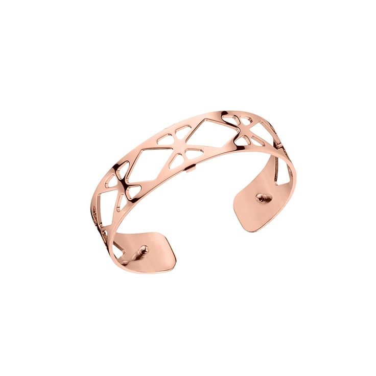 Jonc Les Georgettes Resille Small finition or rose brillant 70285664000000