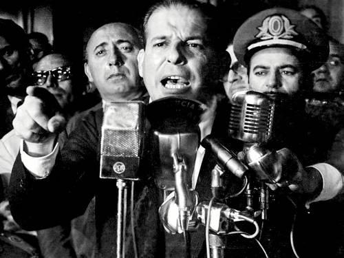 RIO - Falta um ano para o cinquentenário do golpe de 1964, mas um dos principais personagens do turbilhão político responsável pela instauração da ditadura militar no país, o ex-presidente João Belchior Marques Goulart (1919-1976), já mobiliza a atenção do cinema documental brasileiro.