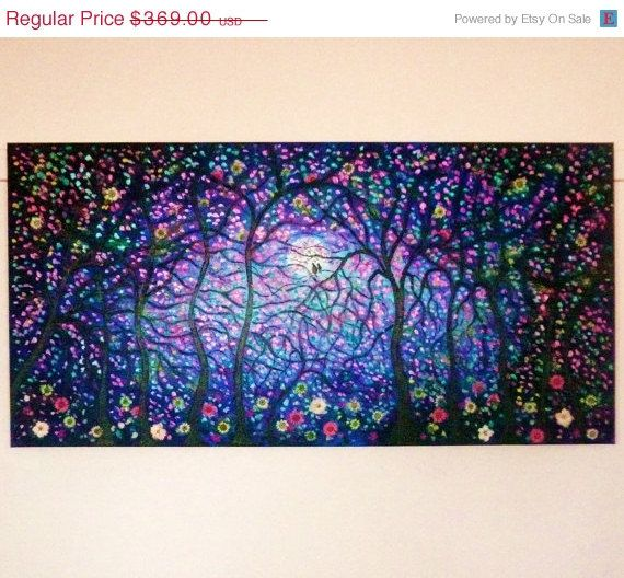 45 off thru Thursday Large original oil painting by jeanvadalsmith, $202.95