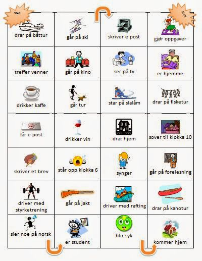 Board game - use of preterite with strong verbs   Less Commonly Taught