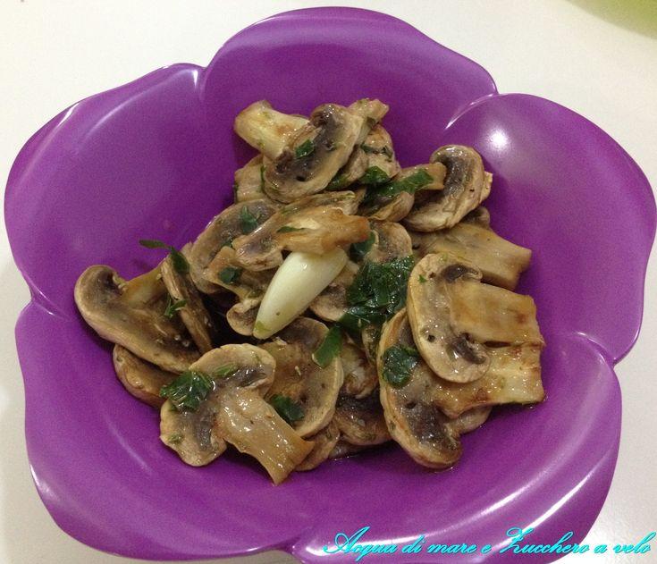 Funghi aromatizzati