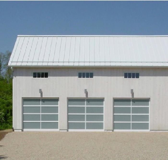 Model bp 450 size 9 2 x 8 frame white powder for 18 x 9 garage door