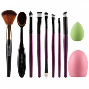 SHARE & Get it FREE   Cosmetic 6 Pcs Eye Makeup Brushes Set + Blush Brush + Foundation Brush + Brush Egg + Makeup SpongeFor Fashion Lovers only:80,000+ Items·FREE SHIPPING Join Dresslily: Get YOUR $50 NOW!