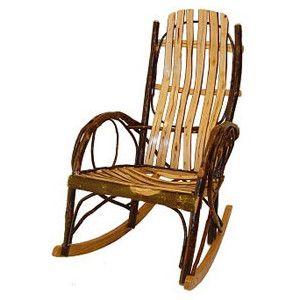 Elegant Amish Rocking Chair