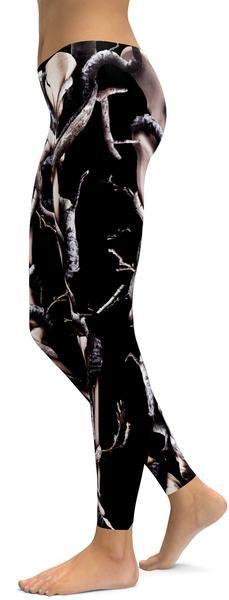 Organic Skeleton Leggings - GearBunch Leggings / Yoga Pants