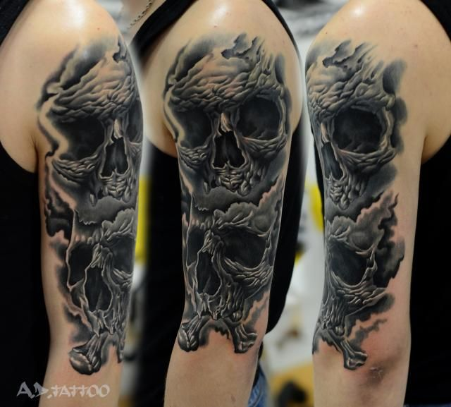75 best images about Skull sleeve designs on Pinterest ...