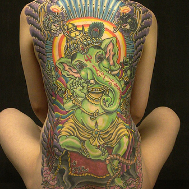 ganesh tattoo tumblr - photo #1