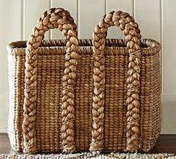 Beachcomber Oversized Rectangular Basket