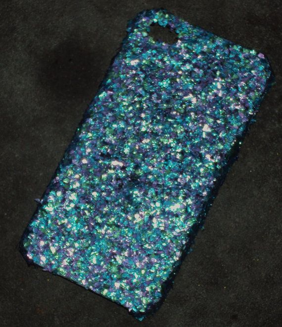 Peacock Glitter iPhone 4 4s Hard Cover Case by kaylafenton on Etsy, $10.00