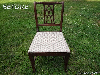 Gives detailed instructions on how to refinish chairs but could use on any wood surface.  Great tutorial!