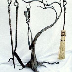 Fireplace Tool Sets by Paula and Larry Jensen
