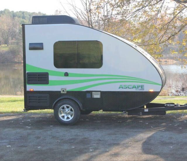 Rv Campers For Sale Near Me >> 2020 Aliner Ascape GRAND | Lightweight travel trailers, Travel trailer rental, Camping trailer ...