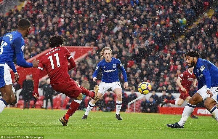 Salah vẽ cầu vồng trong mưa tuyết Web tin tức bóng đá