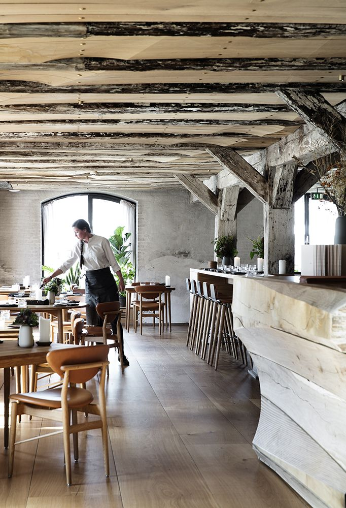 Un restaurante en Copenhague diseñado por e Estudio Snøhetta.