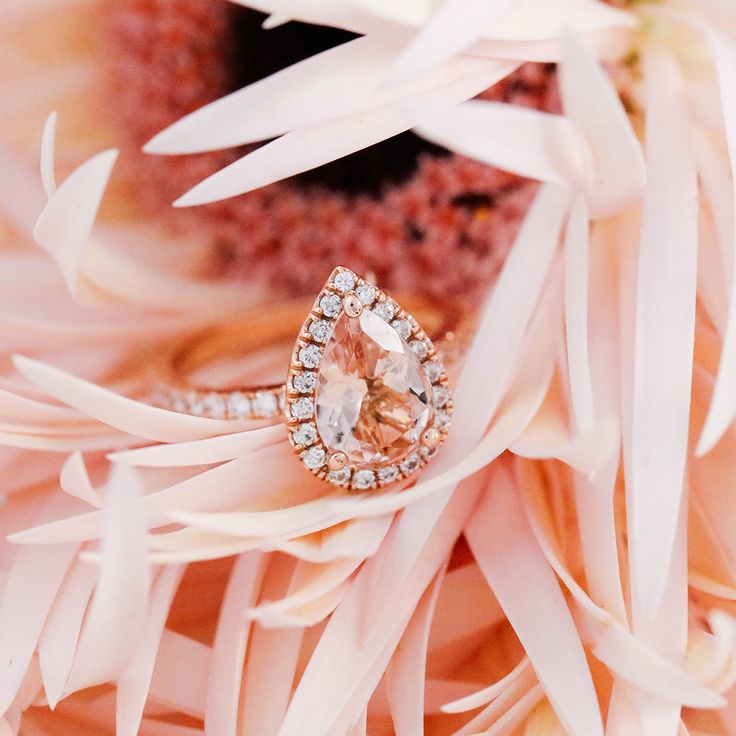 Gorgeous custom ring from Good Stone. Click to see more of their custom rings + stackers.