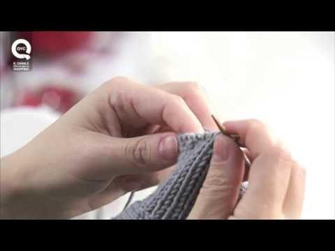 Lavorare a maglia con la tecnica continentale. Presenta Emma Fassio - YouTube