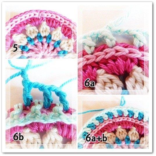Mandala de primavera con explicación paso a paso | Crochet y Dos agujas