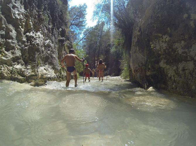 Rio Chillar à Nerja, Malaga - Costa del Sol (Espagne)