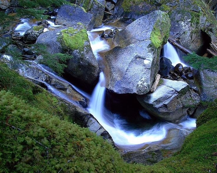 Middle Rainbow Falls, Whistler, BC, Canada