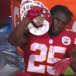 Jim Nantz takes swipe at Jamaal Charles after fumble (video) - http://blog.clairepeetz.com/jim-nantz-takes-swipe-at-jamaal-charles-after-fumble-video/