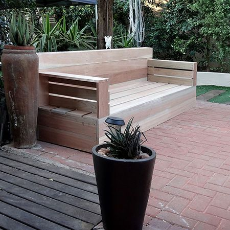 1000 Ideas About Wood Patio Furniture On Pinterest