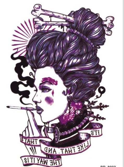 New Waterproof Flower Tattoo 3D Tattoo Sticker Mecânico Tattoo Men Women Body ….