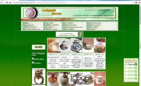 Loja Virtual - Antiquário Marcos - Raridade, peças para colecionadores e curiosidades