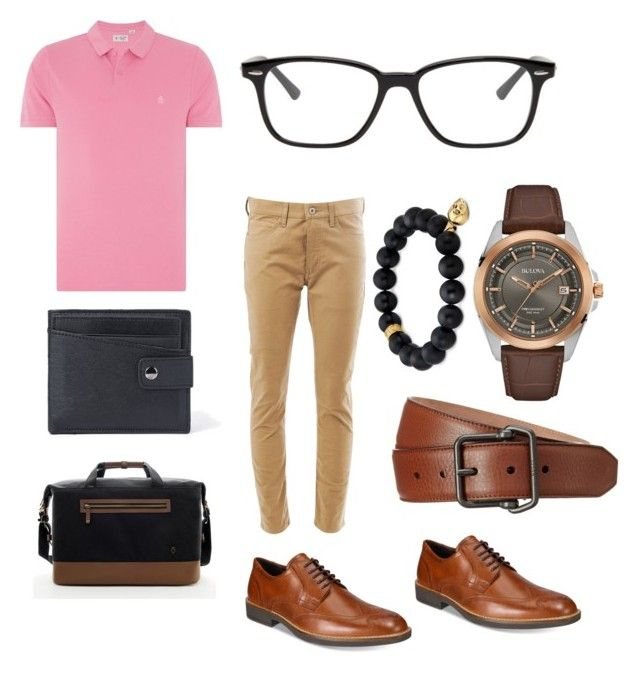 """""""Two in the pinky !! One in the ..... """" by tomasi-nasau on Polyvore featuring ECCO, Gucci, Original Penguin, Junya Watanabe, VesseL, Bulova, Northskull, Ray-Ban, men's fashion and menswear"""