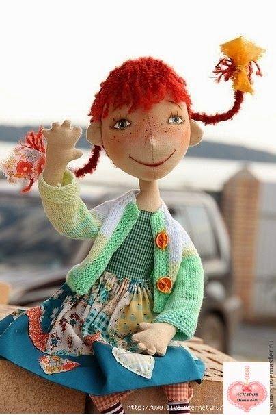 Mimin Dolls: menina sapeca free pattern