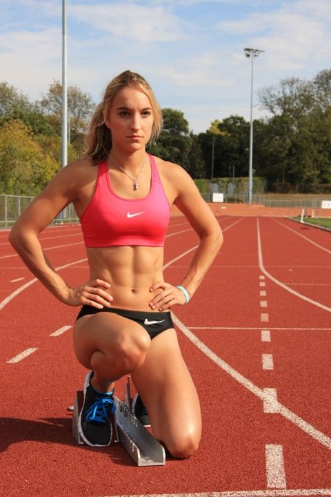 Emily Diamond - Track and Field . What an amazing fitspiration!