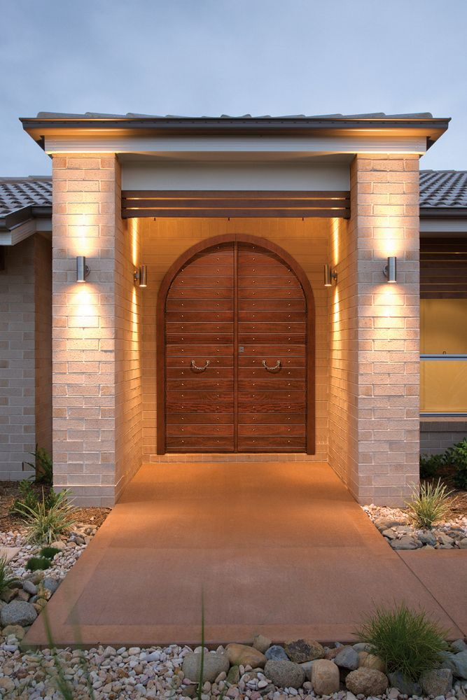 Exterior Safety Door Modern Line ~ Golden Door ~