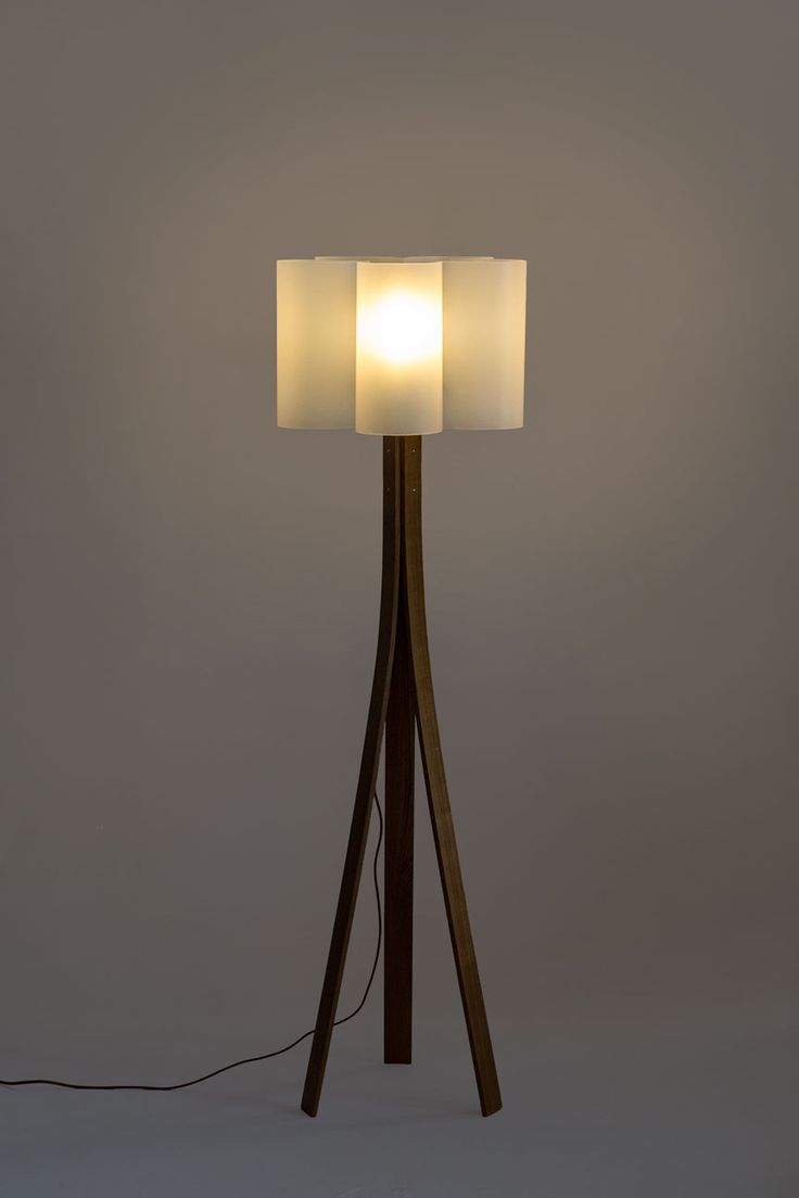 57 best floor lamps at the purple turtles images on pinterest ved floor lamp material type wood acrylic greentooth Images