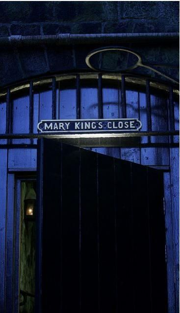 Known as the 'street of sorrows' due to the urban legend that it was walled up with plague victims and their families to die in, Mary King's Close in Edinburgh is one of the only original streets from the 1600s still standing in the city, with its original homes and layout. This despite the fact that it was walled up for over 100 years. Known as one of the most haunted streets in the world, many myths and stories grew up around it through its history.