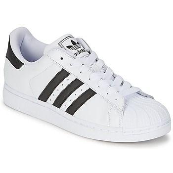 adidas Originals SUPERSTAR II Blanc / Noir 350x350 Spartoo fashuin sneaker