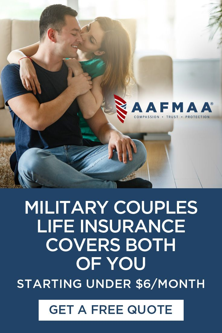 Ad Aafmaa S Military Couples Life Insurance Delivers Affordable