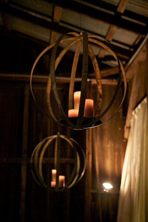 Rustic Candlelight