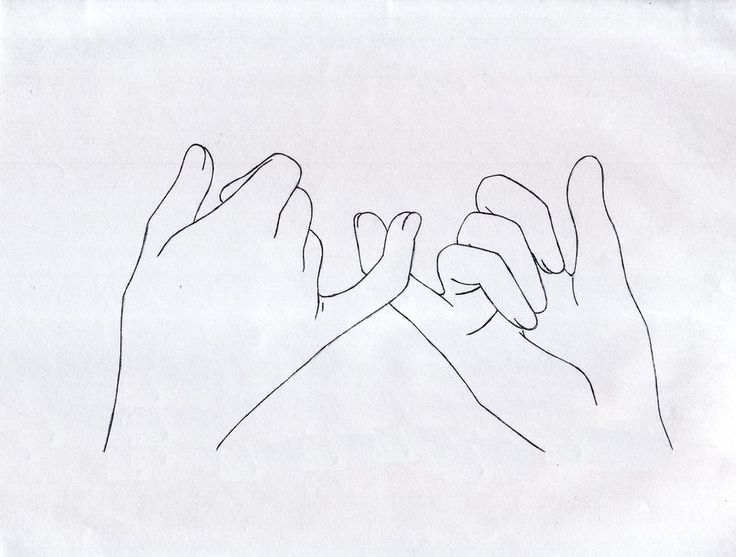 pinky swear drawing - Google Search