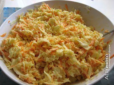 14. Овощной салатик (гарнир к рыбке)