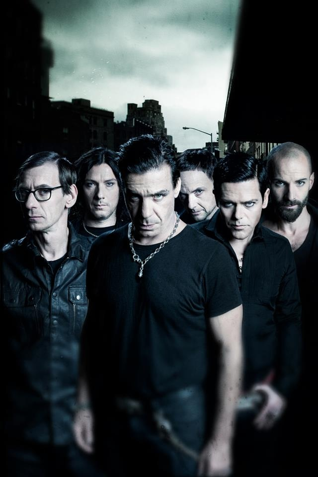 RAMMSTEIN - Don't speak German, don't care. I love this band.