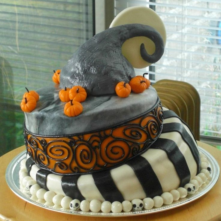 76 best Nightmare Before Christmas Cakes images on Pinterest ...