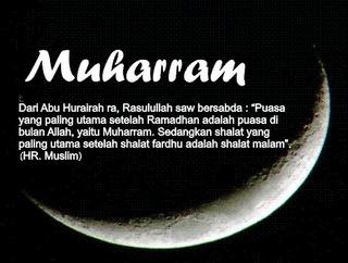 Muharram adalah bulan di mana umat Islam mengawali tahun kalender Hijriah berdasarkan peredaran bulan. Muharram menjadi salah satu dari empat bulan suci yang tersebut dalam Al-Quran.