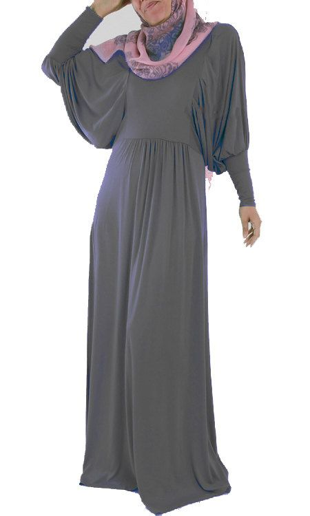 Viscose Batwing Abaya dress Various Colors by ShopIslam on Etsy