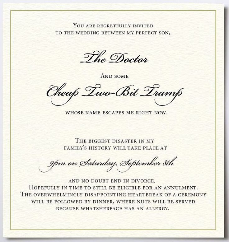 115 best Wedding Invitation Templates images on Pinterest - marriage invitation mail format