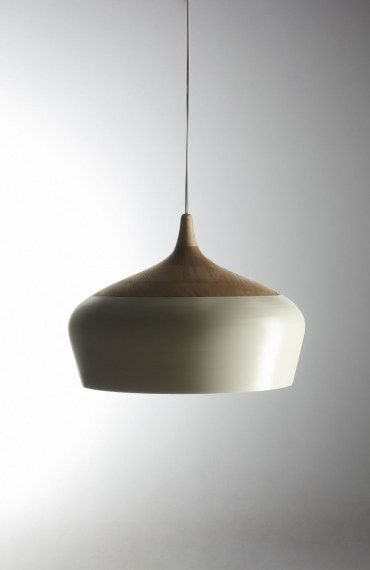 Kate stokes matt white coco pendant light the emerging designers the emerging designers