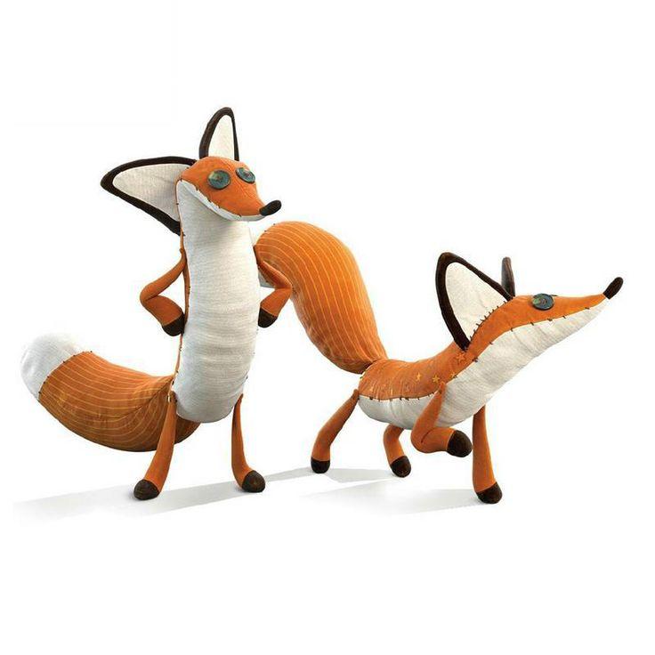1 unids el principito Fox 80 cm animales de peluche de la felpa de la película Le Petit Prince educación juguetes para el regalo navidad(China (Mainland))