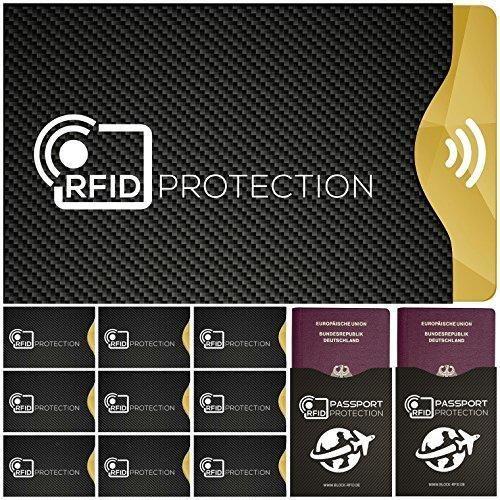 Oferta: 11.95€. Comprar Ofertas de Tapa de la cerradura 12x RFID con tarjeta de crédito, tarjeta de identificación, tarjeta de débito, pasaporte, tarjeta sanita barato. ¡Mira las ofertas!