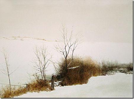 Marzio Tamer, Milan artist | Art: Watercolor Trees ...