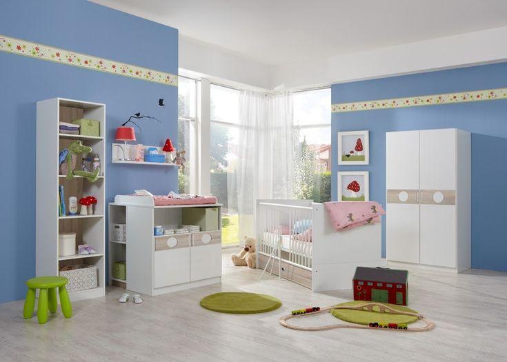 Die besten 25+ Babybett mit wickelkommode Ideen auf Pinterest - pinolino babyzimmer design