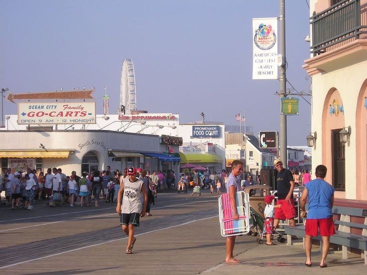 Ocean City, NJ....walking the boards  I've been here too many times to count! Love the shore